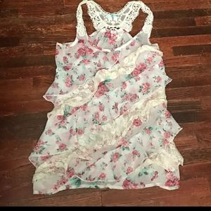 ISO this Maurices floral ruffle tank